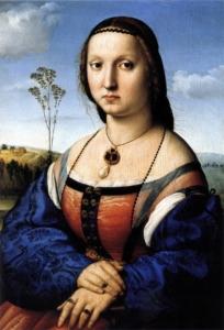 Ritratto di Maddalena Strozzi dell'epoca del Rinascimento