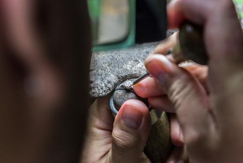 taglio delle gemme Cafiero Gioielli